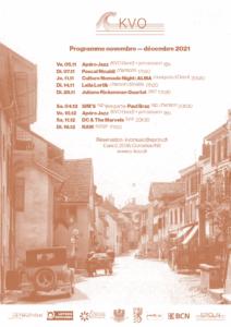 Programme du kvo novembre décembre